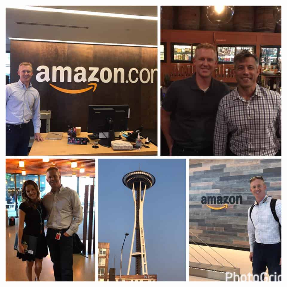 behind the scenes at Amazon headquarters