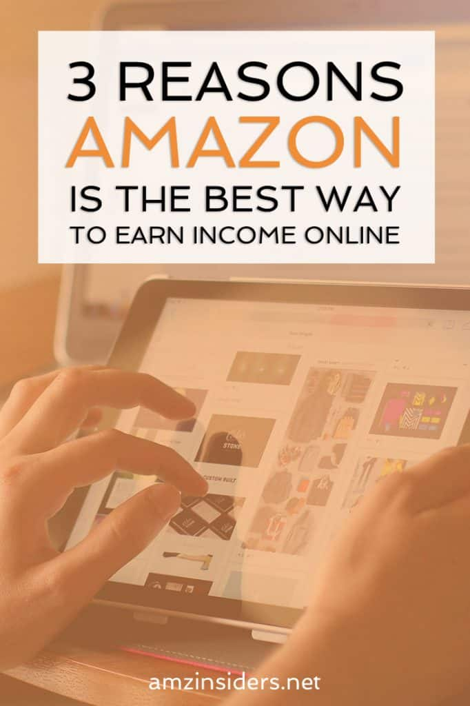 Best way to earn passive income online | How to sell on Amazon | Information about becoming an Amazon seller | Earn money on Amazon FBA // AMZ Insiders
