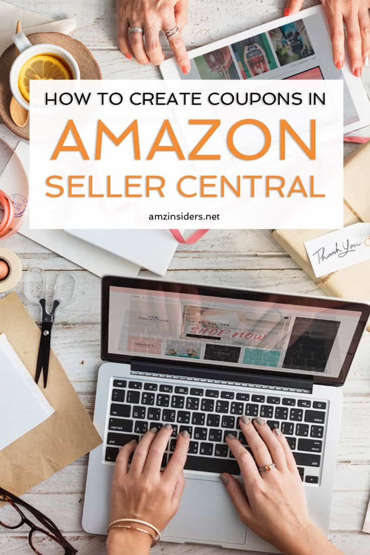 How to create coupons in Amazon Seller Central | How to sell on Amazon | information about becoming an Amazon seller | Amazon FBA seller tips | how to sell stuff on Amazon #amazonfba #amazonseller #sidehustlesuccess // AMZ Insiders
